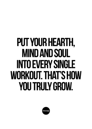 PUT YOUR HEARTH, MIND AND SOUL