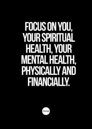 FOCUS ON YOU, YOUR SPIRIT