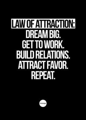 LAW OF ATTRACTION DREAM BIG